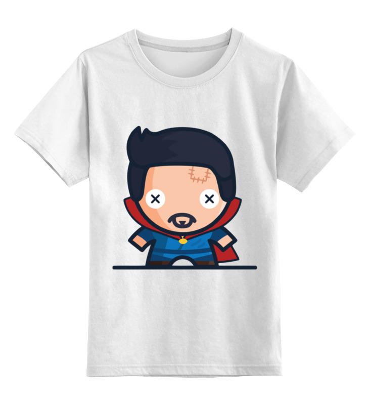 Детская футболка классическая унисекс Printio Доктор стрэндж майка классическая printio доктор стрэндж