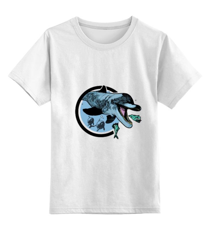 Детская футболка классическая унисекс Printio Дельфин детская футболка классическая унисекс printio дельфины