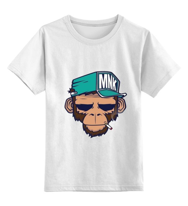 Детская футболка классическая унисекс Printio Mnk design. original design детская футболка классическая унисекс printio born to design