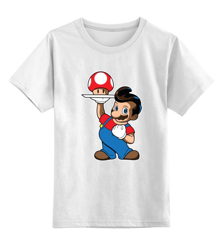 Детская футболка классическая унисекс Printio Марио sbart upf50 rashguard 2 bodyboard 1006