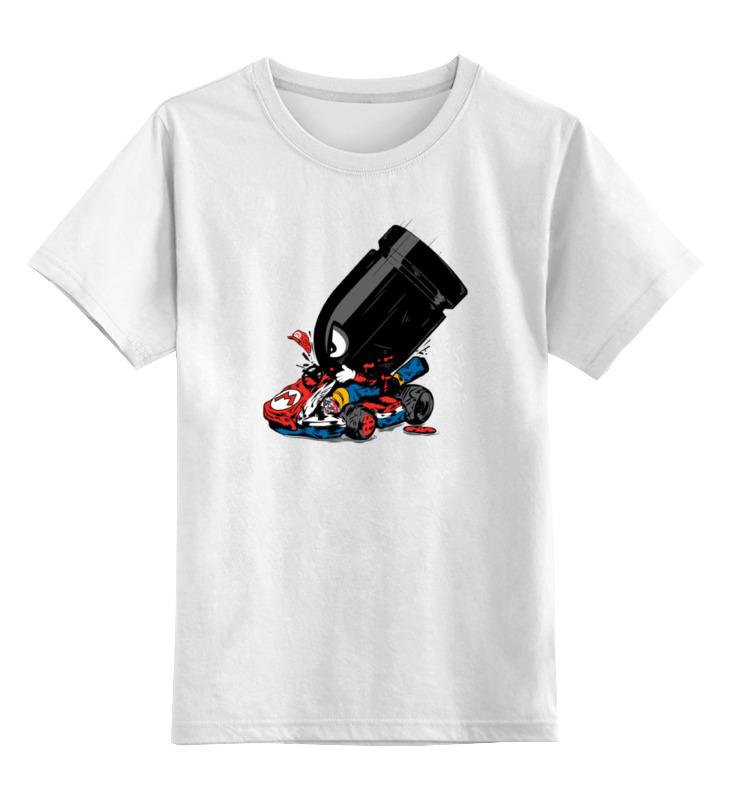Детская футболка классическая унисекс Printio Пуля марио карт футболка классическая printio марио карт