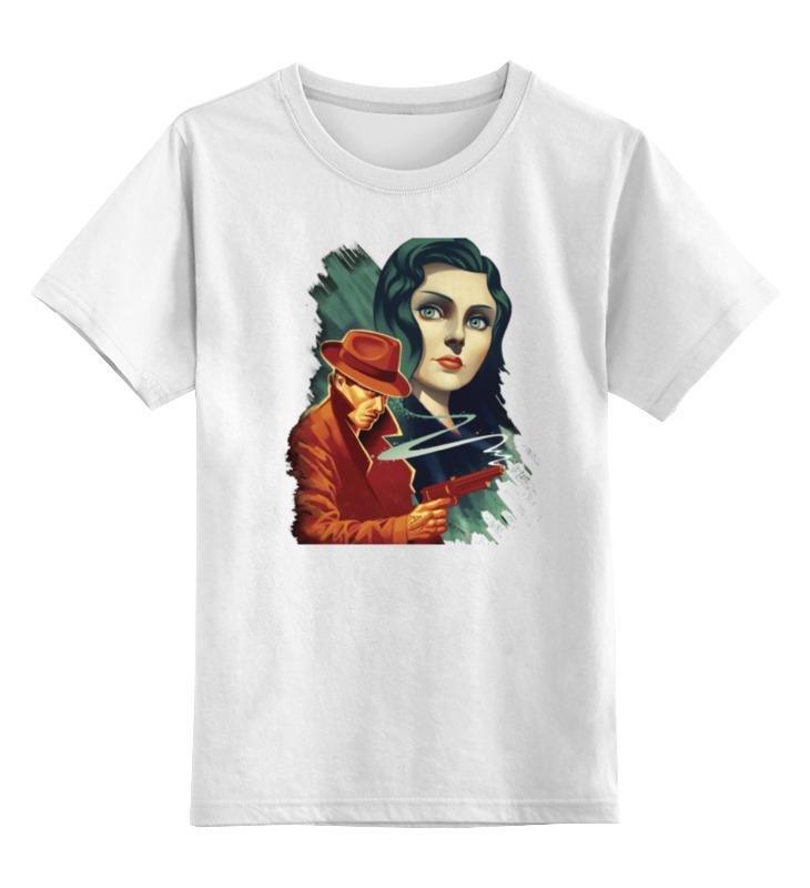 Детская футболка классическая унисекс Printio Bioshock infinite футболка рингер printio bioshock infinite