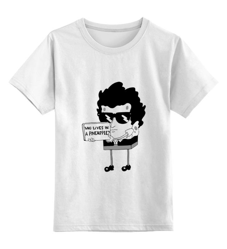 Детская футболка классическая унисекс Printio Спанч боб губка боб квадратные штаны день мороженого книжка мозаика