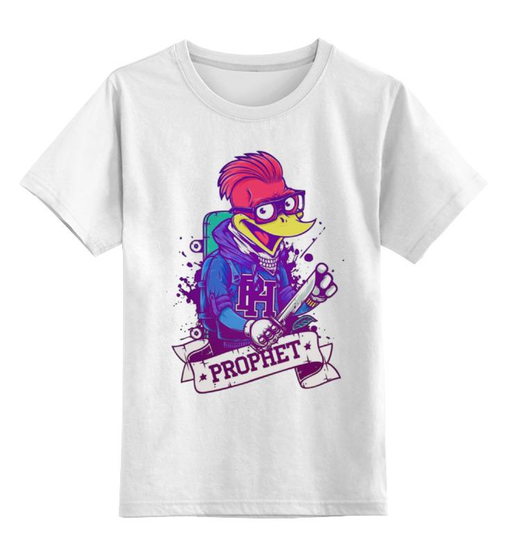 Детская футболка классическая унисекс Printio Отмороженный дятел футболка с полной запечаткой мужская printio отмороженный дятел