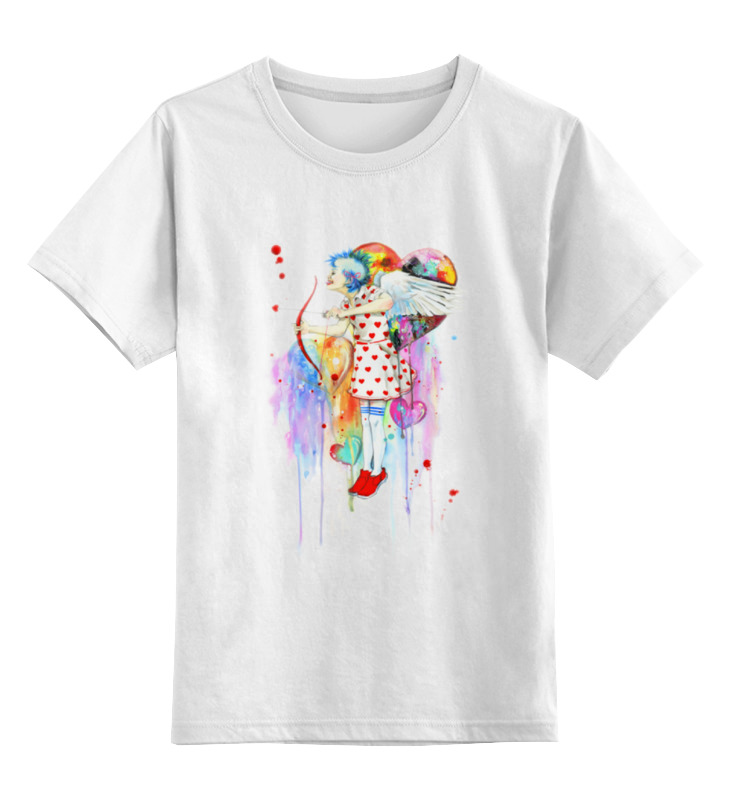 Детская футболка классическая унисекс Printio Ангелы бывают разные:)