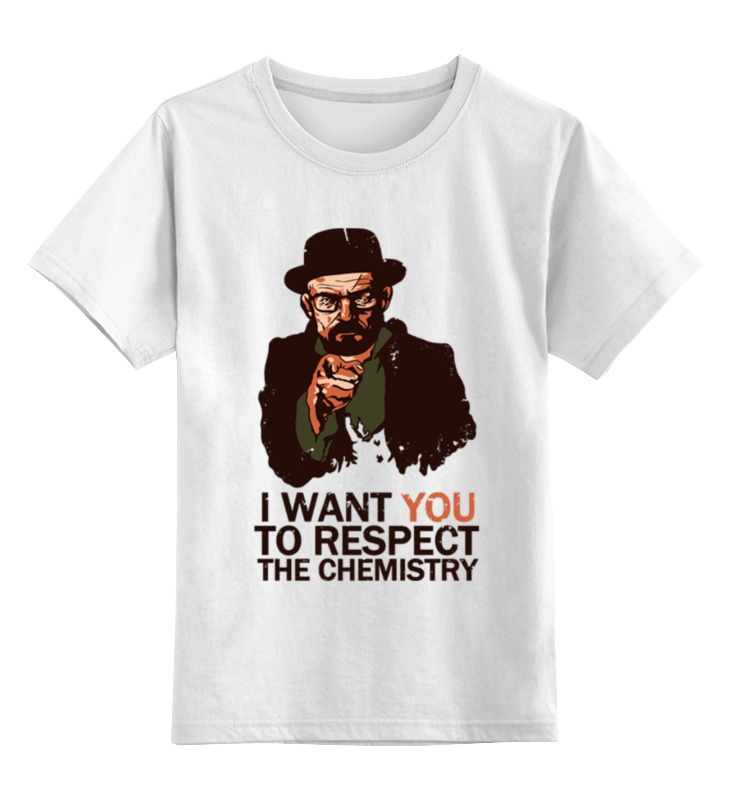 Детская футболка классическая унисекс Printio Walter white цена