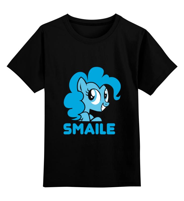 Детская футболка классическая унисекс Printio Smaile майка классическая printio smaile