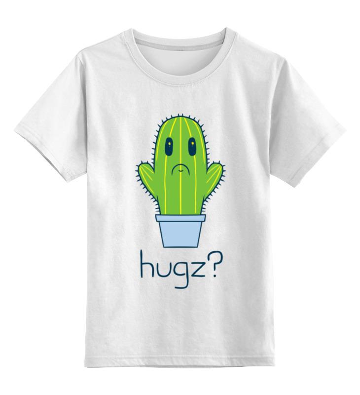Детская футболка классическая унисекс Printio Обнимашки? детская футболка классическая унисекс printio обнимашки для котов