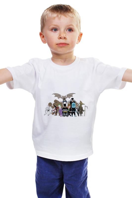 Детская футболка классическая унисекс Printio Комиксы детская футболка классическая унисекс printio комиксы