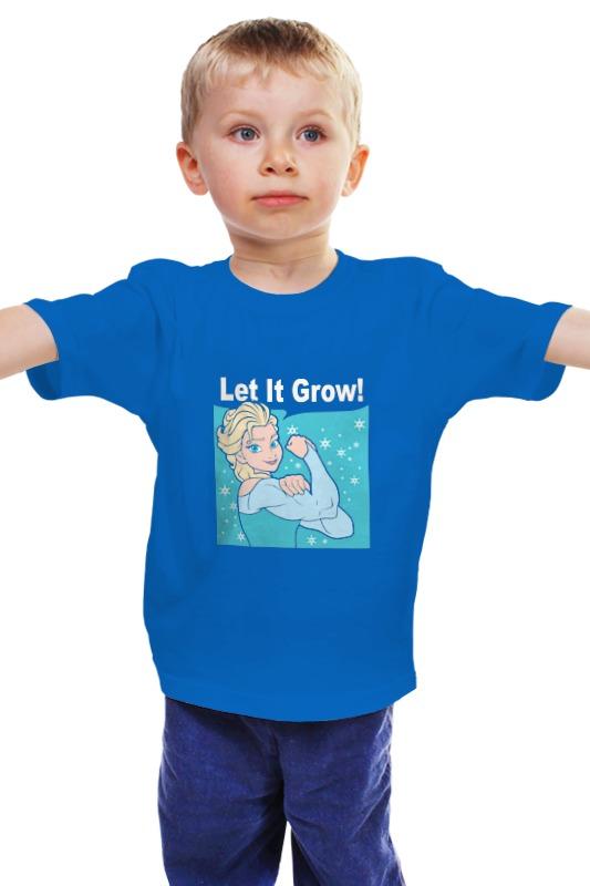 Детская футболка классическая унисекс Printio Снежная королева дрофа медиа чудесные снежная королева