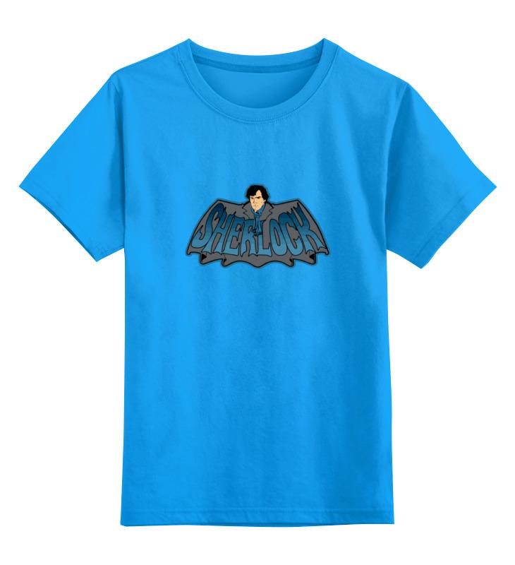 Детская футболка классическая унисекс Printio Шерлок холмс (sherlock holmes) ник картер американский шерлок холмс