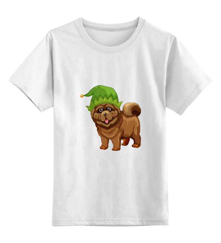 Детская футболка классическая унисекс Printio Чау - чау