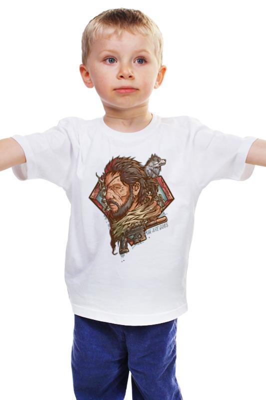 Детская футболка классическая унисекс Printio Big boss (metal gear solid) boss metal zone mt 2