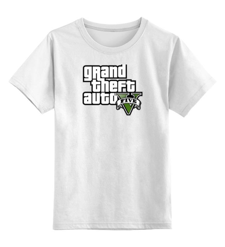 Детская футболка классическая унисекс Printio Grand theft auto 5