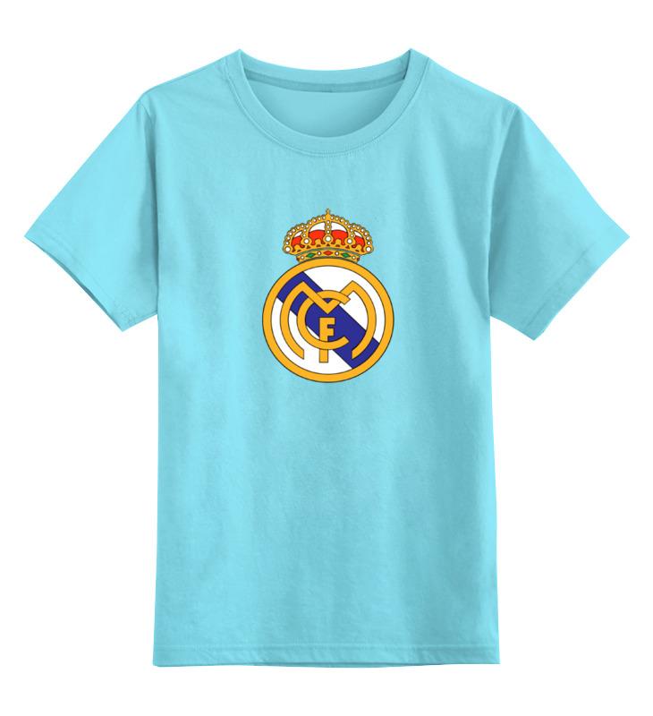 Детская футболка классическая унисекс Printio реал мадрид футболка рингер printio real madrid реал мадрид