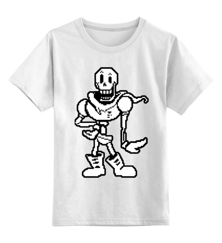 Printio Папирус (undertale) детская футболка классическая унисекс printio папирус undertale