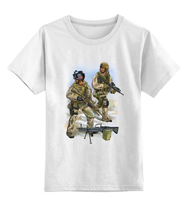 цена Детская футболка классическая унисекс Printio Us army