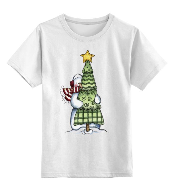Фото - Детская футболка классическая унисекс Printio Новый год худи print bar новый год 2017