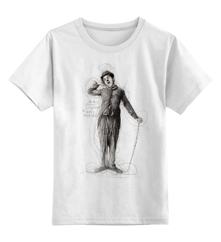 Детская футболка классическая унисекс Printio Charlie chaplin футболка стрэйч printio charlie chaplin