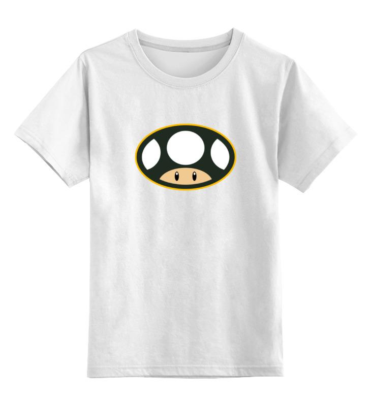 Детская футболка классическая унисекс Printio Гриб (марио) детская футболка классическая унисекс printio марио