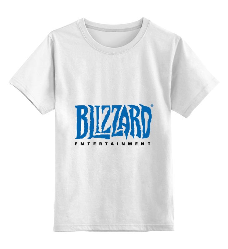 Детская футболка классическая унисекс Printio Blizzard blizzard iq 3 10