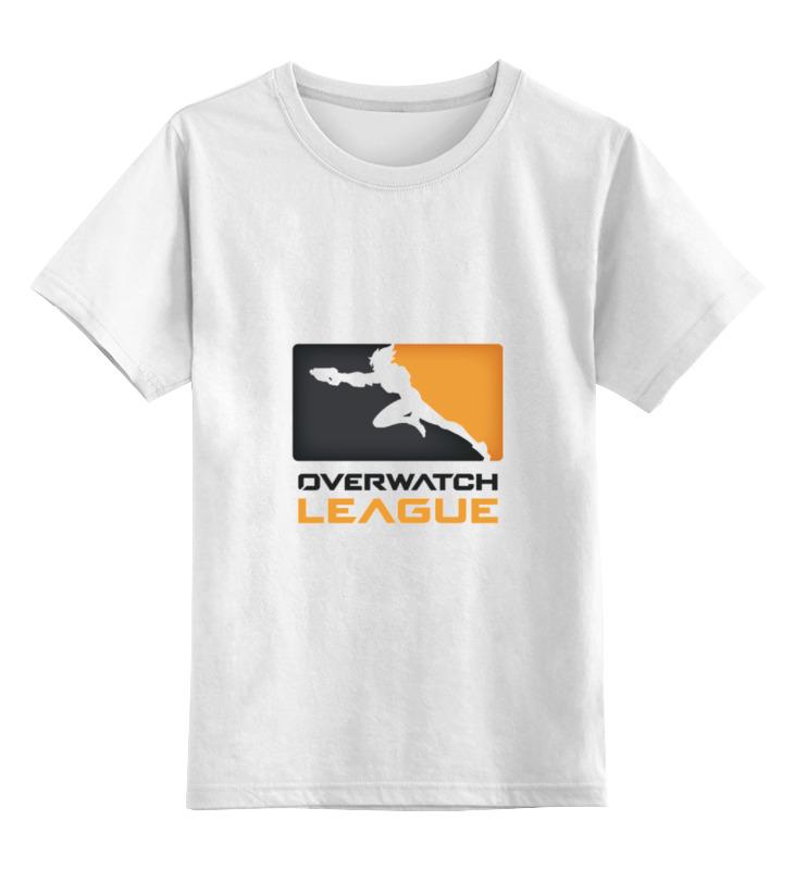 Детская футболка классическая унисекс Printio Overwatch league сумка printio overwatch league