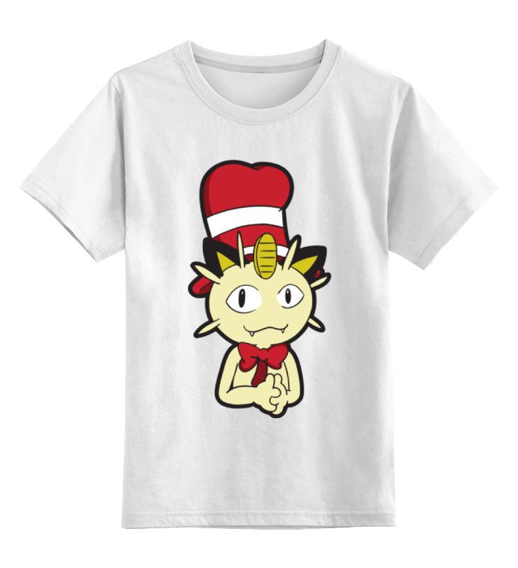 Детская футболка классическая унисекс Printio Мяут (покемон) сумка printio мяут покемон
