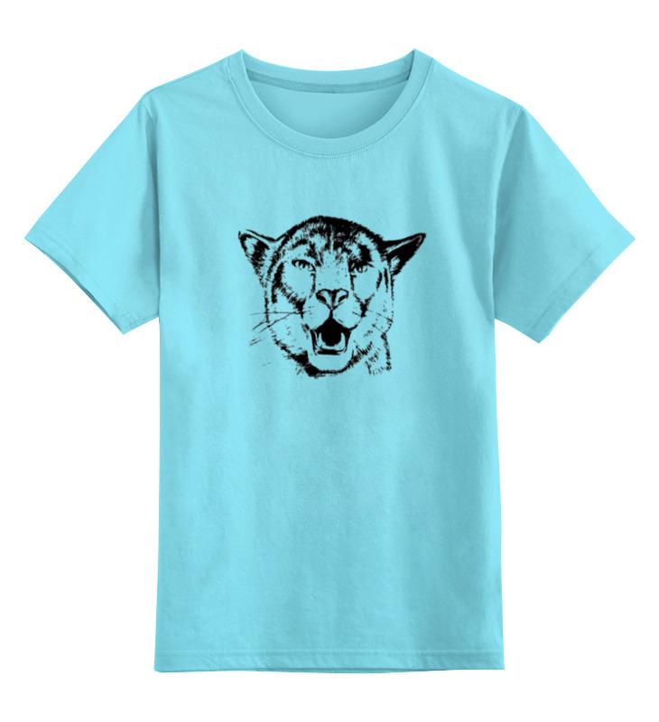купить Детская футболка классическая унисекс Printio Пантера недорого