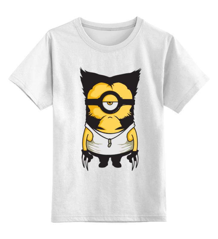 Детская футболка классическая унисекс Printio Миньон рассомаха детская футболка классическая унисекс printio миньоны