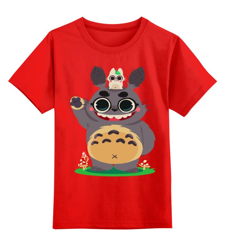 Детская футболка классическая унисекс Printio Тоторо аккумулятор panasonic eneloop bk 3mcce 2be 1900mah aa bl2