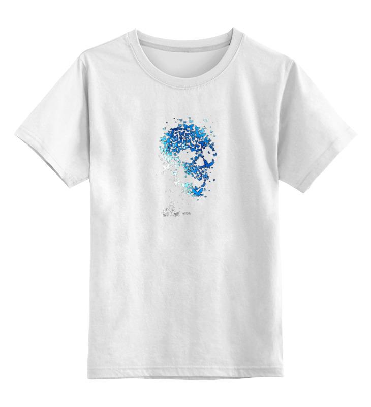 Детская футболка классическая унисекс Printio Череп детская футболка классическая унисекс printio череп мезенская роспись