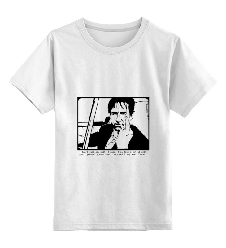 Детская футболка классическая унисекс Printio Hank moody (хэнк муди), californication
