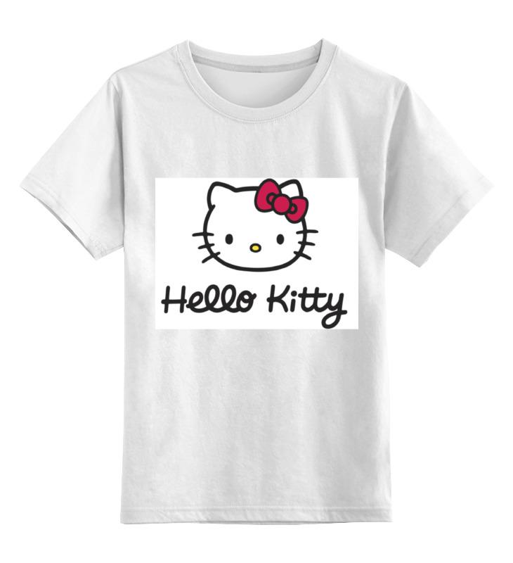 Детская футболка классическая унисекс Printio hello kitty! оправа hello kitty оправа детская hello kitty hk037 c15