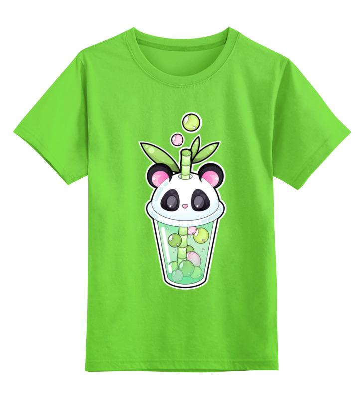 Детская футболка классическая унисекс Printio Пузырьковое настроение(панда) детская футболка классическая унисекс printio король панда