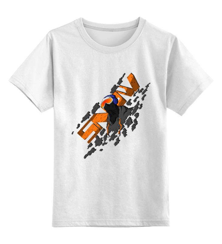 Детская футболка классическая унисекс Printio Snowboarder свитшот print bar snowboarder