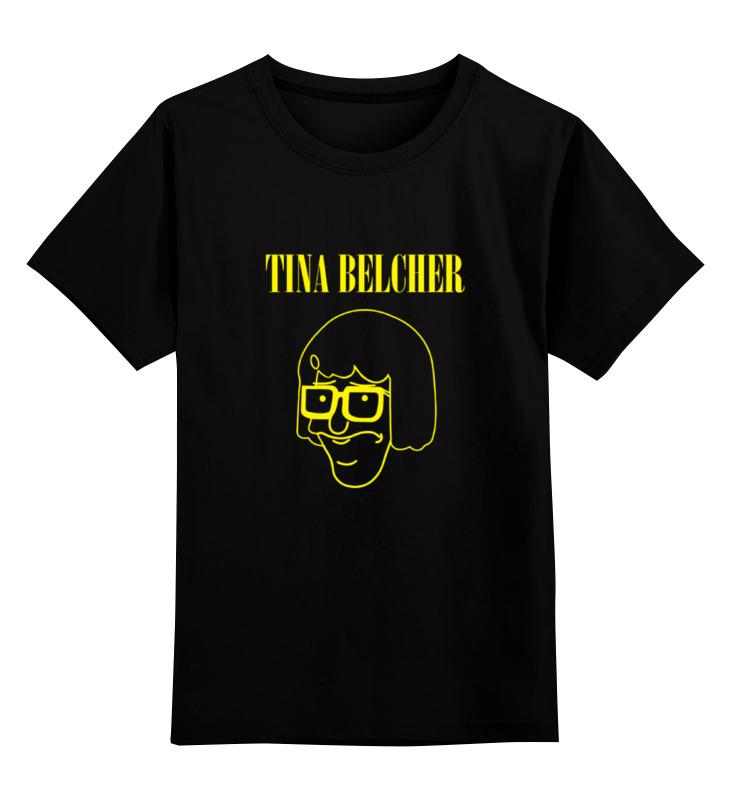 Детская футболка классическая унисекс Printio Тина белчер (закусочная боба) лонгслив printio тина белчер закусочная боба