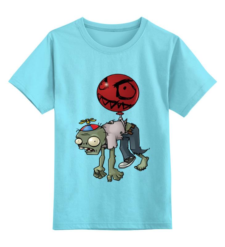 Детская футболка классическая унисекс Printio Зомби plant майерс д mac os x 10 5 leopard пер с англ