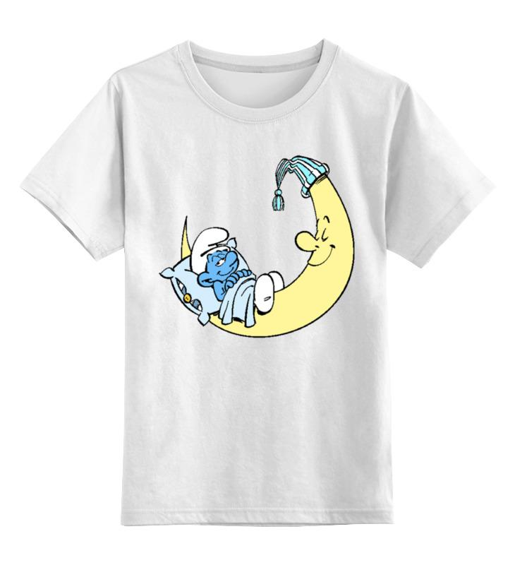 Детская футболка классическая унисекс Printio Смурфик