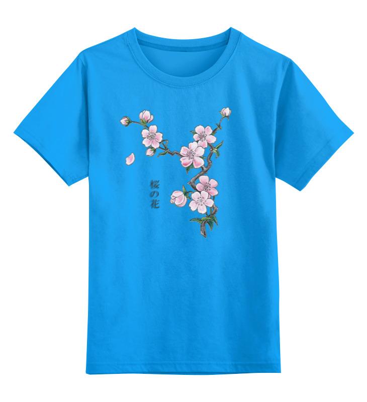 Детская футболка классическая унисекс Printio Японская сакура отдушка косметическая цветы сакуры 10гр