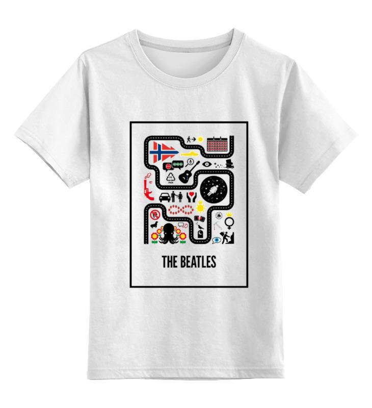 Детская футболка классическая унисекс Printio The beatles детская футболка классическая унисекс printio the cure wish