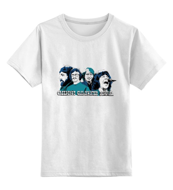 Детская футболка классическая унисекс Printio creedence футболка рингер printio creedence