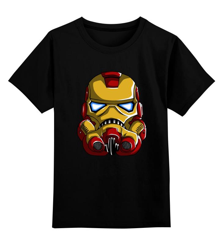 Детская футболка классическая унисекс Printio Iron trooper детская футболка классическая унисекс printio skull trooper