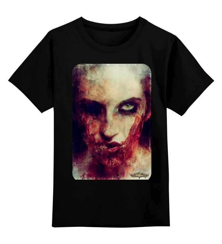 цена на Детская футболка классическая унисекс Printio Zomdie