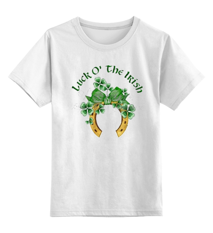 Детская футболка классическая унисекс Printio Ирландская удача