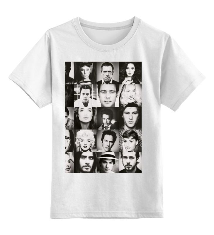 Детская футболка классическая унисекс Printio Звезда кино футболка рингер printio звезда кино