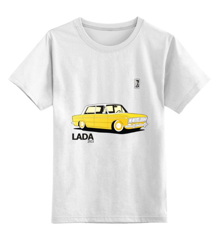 Детская футболка классическая унисекс Printio Retro ride диск mefro ваз оригинал ваз 2103 5xr13 4x98 мм et29 черный