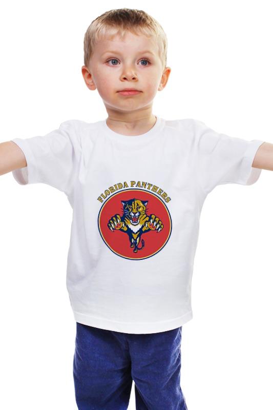 Детская футболка классическая унисекс Printio Флорида пантерс jonathan p gilbert florida флорида зеленый гид