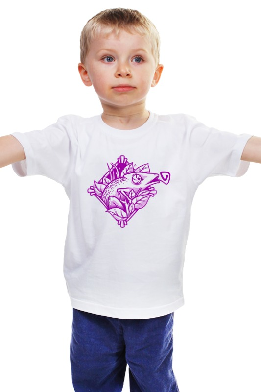 Детская футболка классическая унисекс Printio Игуана детская футболка классическая унисекс printio мачете