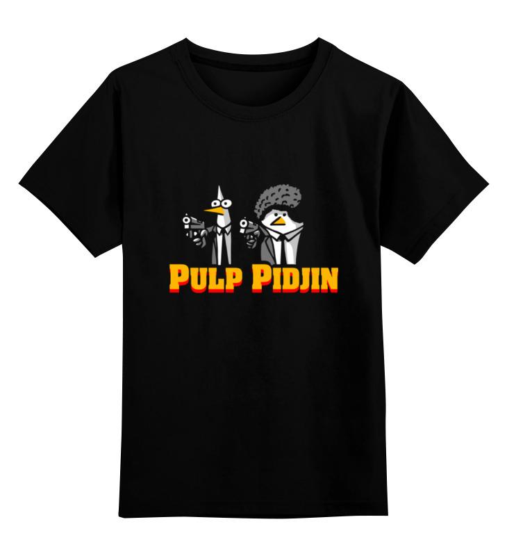 Детская футболка классическая унисекс Printio Криминальное чтиво (pulp fiction) цена и фото