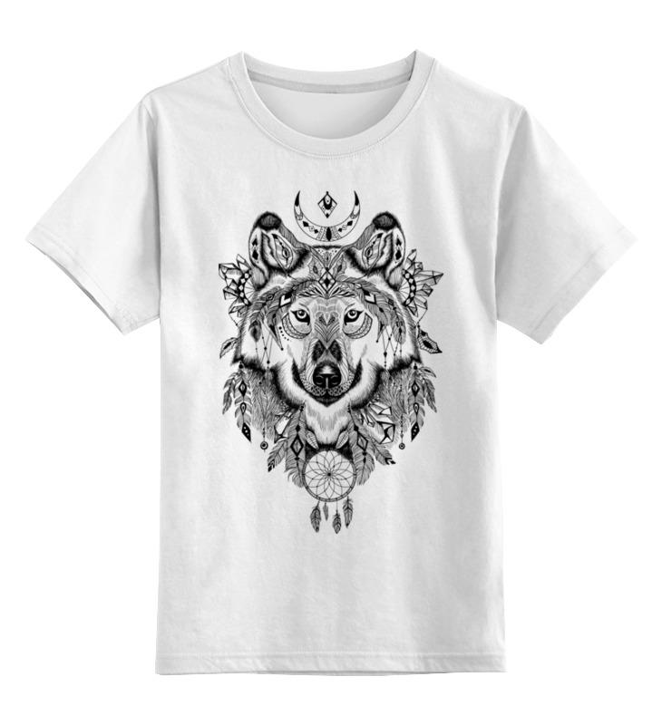Детская футболка классическая унисекс Printio Тотем. волк кресло мешок груша пазитифчик рингс 03